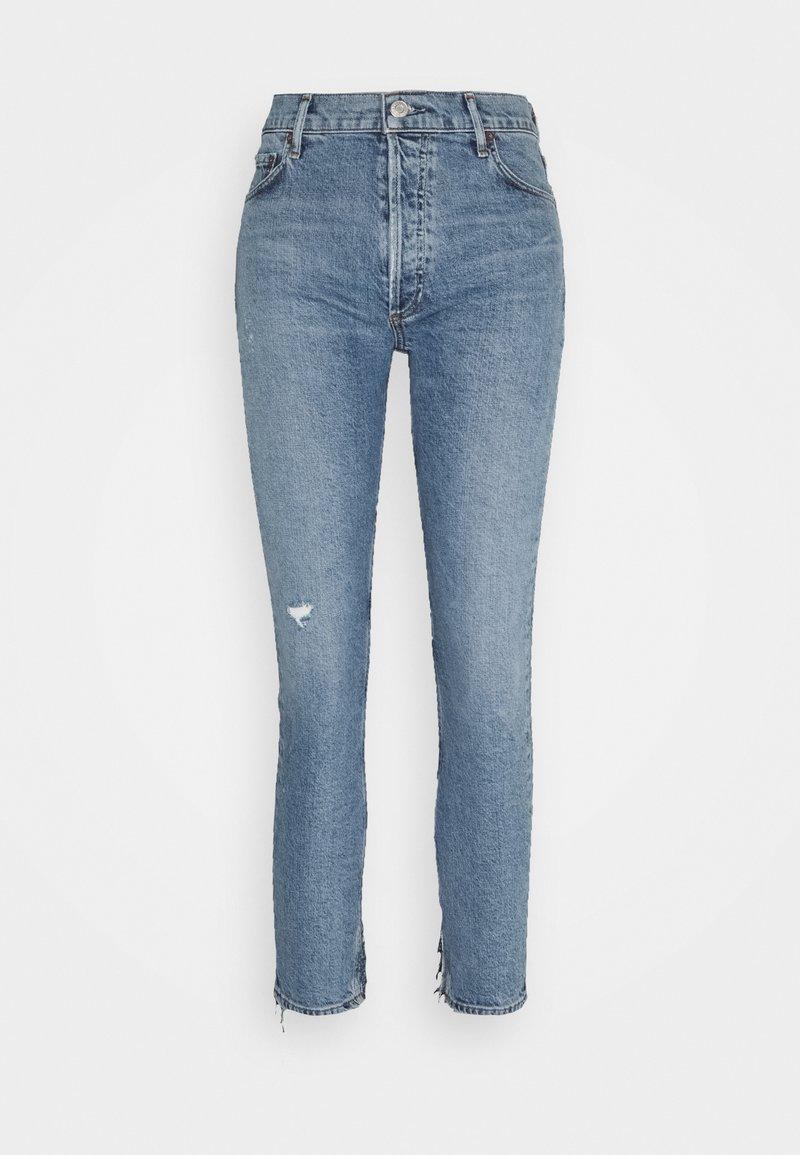 Agolde - HEADLINES NICO  - Slim fit jeans - medium indigo