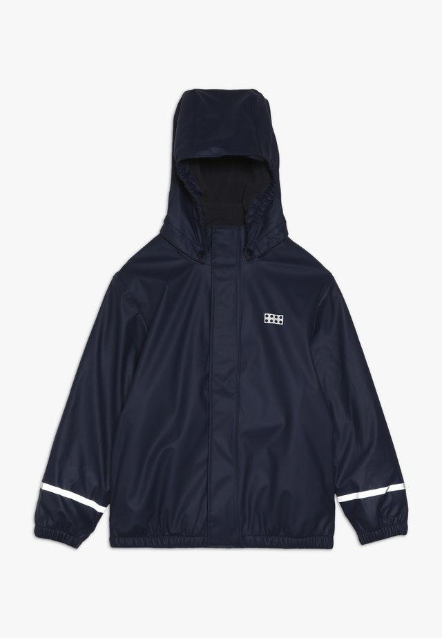 JORDAN RAIN JACKET - Veste imperméable - dark navy
