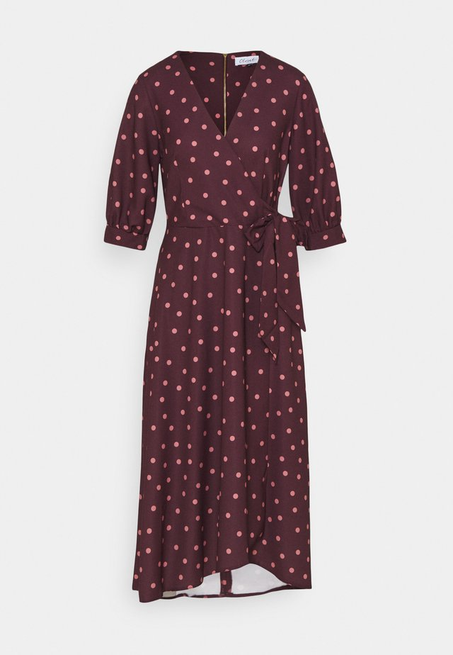 CLOSET GATHERED  - Day dress - brown