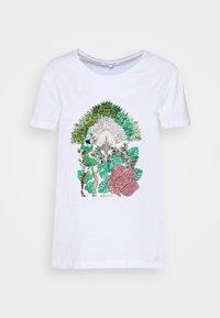 MAGLIA - Print T-shirt - bianco/jungle