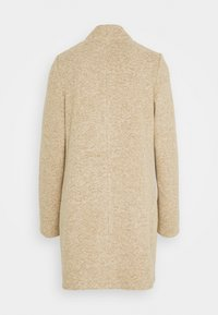 Vero Moda Tall - VMBRUSHEDKATRINE JACKET - Classic coat - silver mink melange - 1
