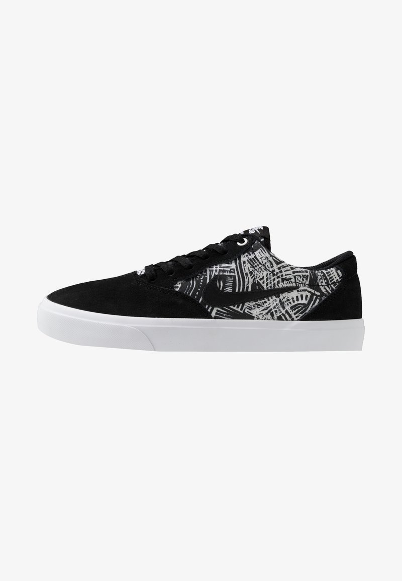 Nike SB - CHRON SLR PRM UNISEX - Sneakers laag - black/white
