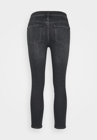 J.CREW PETITE - LOOKOUT CANDIANI PENWOOD - Slim fit jeans - charcoal - 1