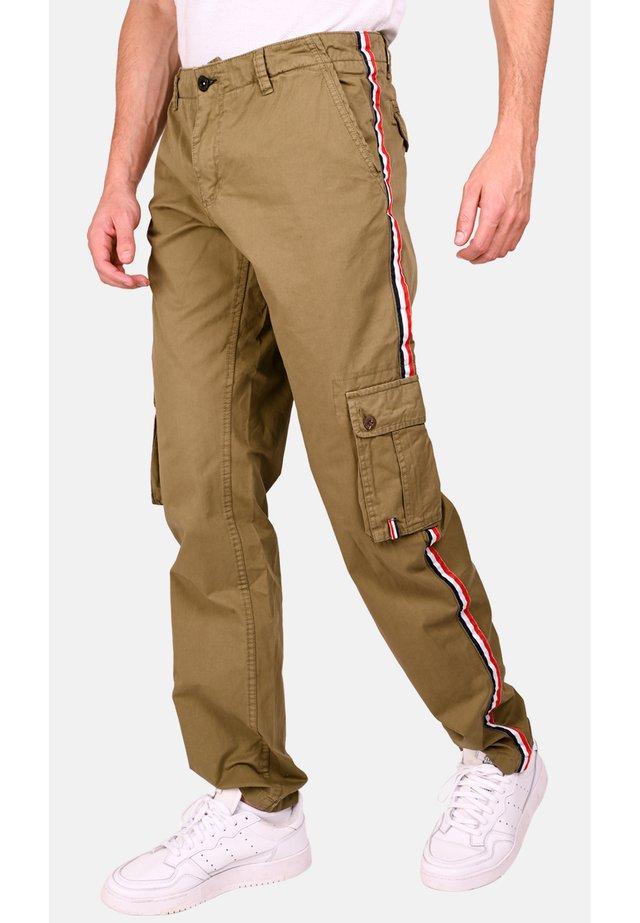 CARGO -TROUSER - Cargo trousers - beige