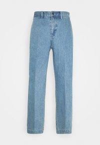 Obey Clothing - HARD WORK CARPENTER - Straight leg -farkut - light indigo - 7