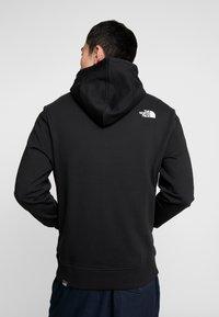 The North Face - STANDARD HOODIE - Hoodie - black - 2