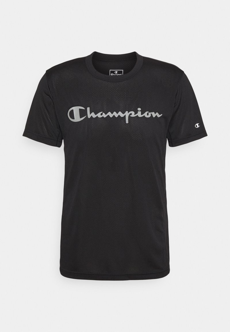 Champion - CREWNECK - T-shirt con stampa - black