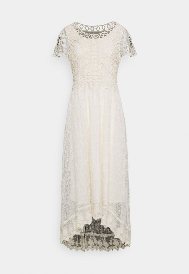 RELAIS DRESS - Maxikjole - off white
