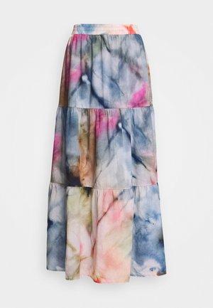 SKIRT TIRED - A-line skirt - multi/dream beach
