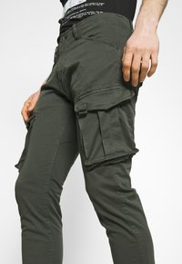 Alpha Industries - SPY PANT - Cargo trousers - greyblack - 3