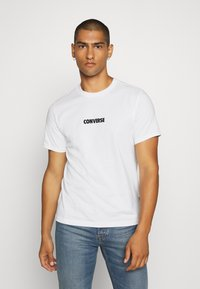 Converse - ALL STAR  ARCHIVE TEE - T-shirt con stampa - white - 2