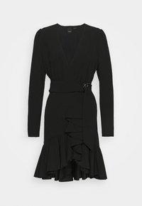 Pinko - BRUMA ABITO FLUIDO - Cocktail dress / Party dress - black - 0