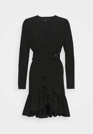 BRUMA ABITO FLUIDO - Cocktail dress / Party dress - black