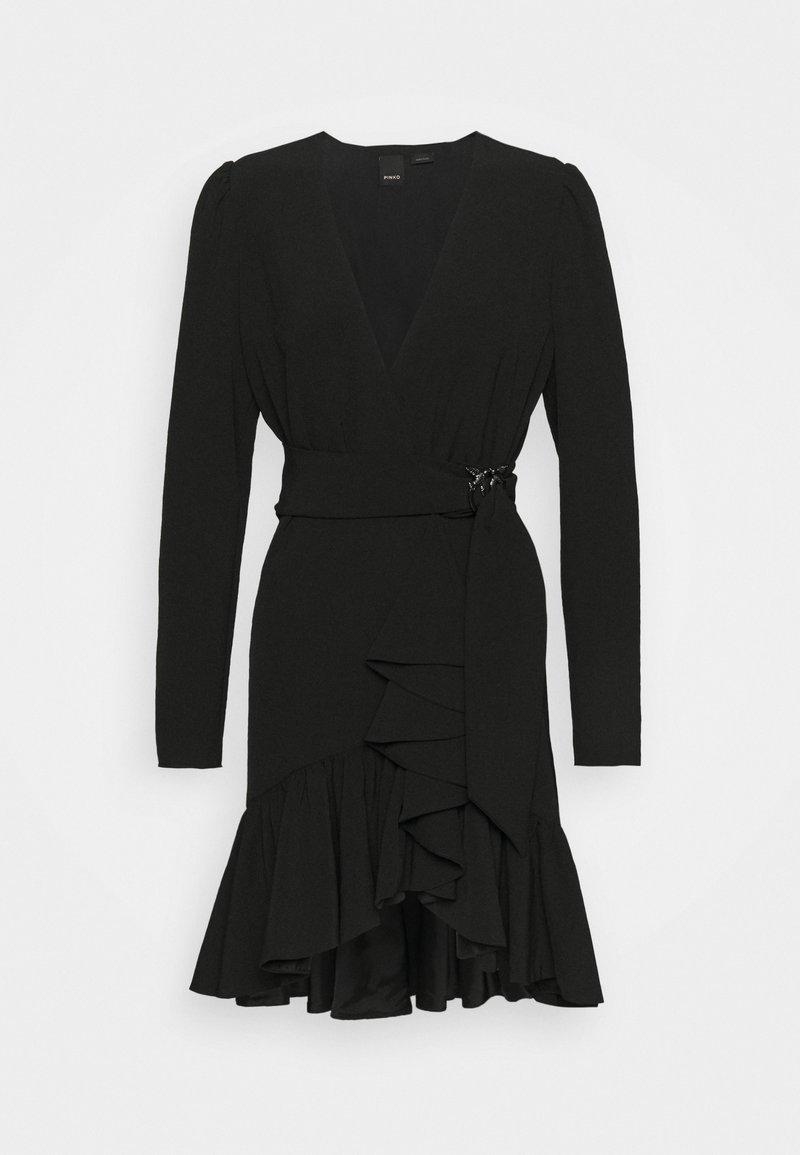 Pinko - BRUMA ABITO FLUIDO - Cocktail dress / Party dress - black