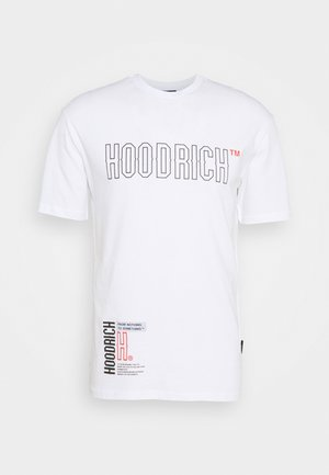 Print T-shirt - white/red