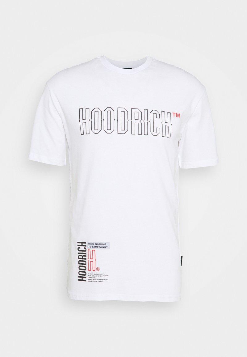Hoodrich - Print T-shirt - white/red