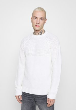 ONSKELVIN CREW NECK - Sweter - cloud dancer