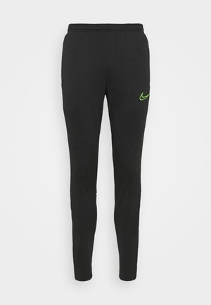 ACADEMY 21 PANT - Pantalon de survêtement - black/green strike