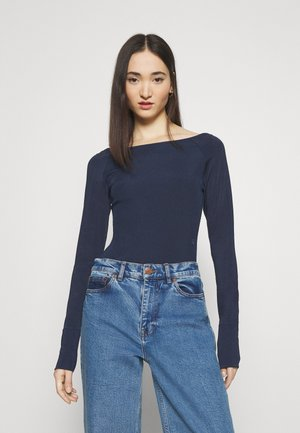 MELAM BOAT SLIM - Long sleeved top - sartho blue