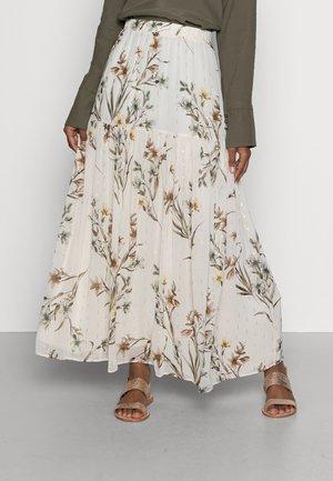 LENITA  - Falda larga - lenita ecru
