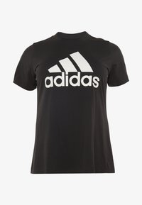 adidas Performance - Print T-shirt - black - 0