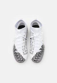 Nike Performance - MERCURIAL JR 7 ACADEMY TF UNISEX - Fußballschuh Multinocken - white/black - 3