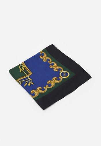 PRINTED KEFIAH - Halsdoek - blue/green