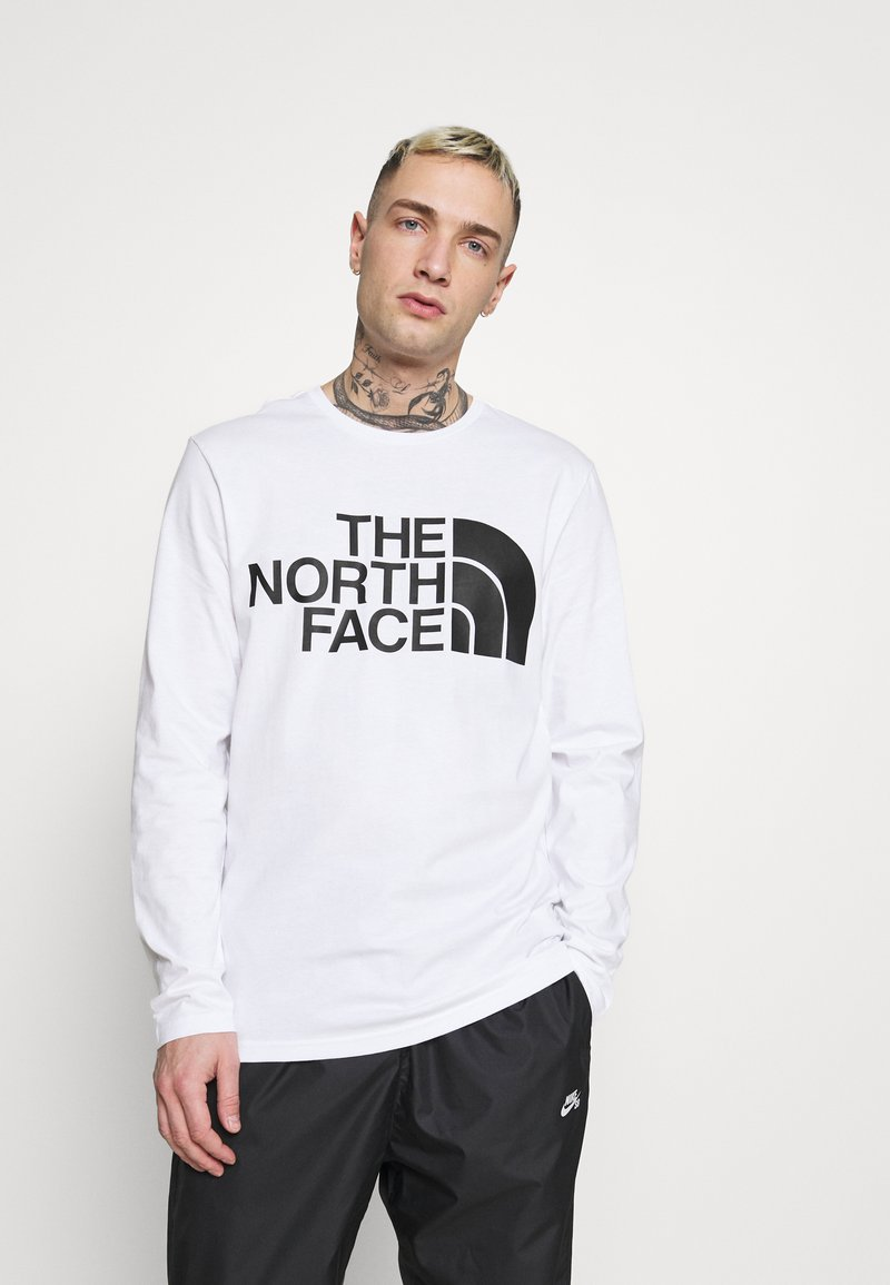 The North Face - STANDARD TEE - Long sleeved top - white