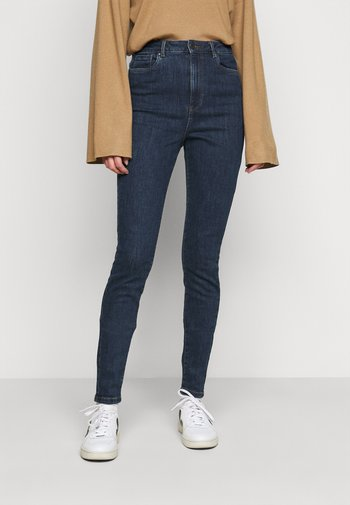 VMLOA - Jeans Skinny Fit - dark blue denim