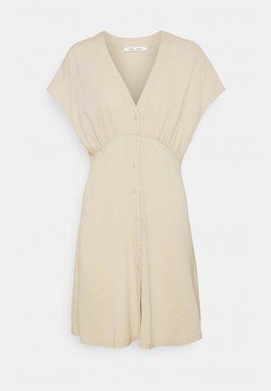 VALERIE SHORT DRESS - Shirt dress - brown rice