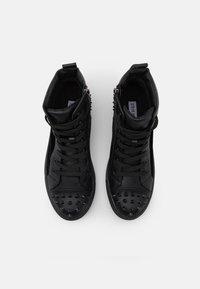 Steve Madden - CORDZ - Sneakersy wysokie - black - 3