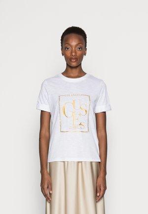 SIMONNE  - Print T-shirt - pure white
