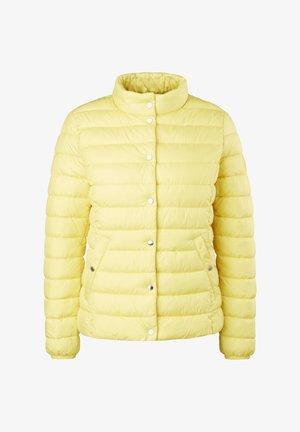 Down jacket - gelb