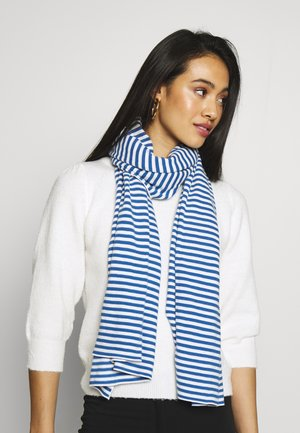 STRUCTURE STRIPED - Sjal - multi/blue