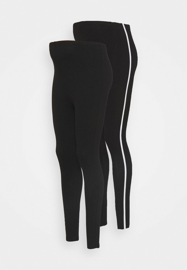 2PACK - Legginsy - black