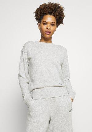 CREW NECK - Pyjama top - light grey