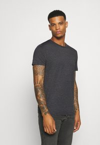 Burton Menswear London - SHORT SLEEVE CREW 5 PACK - T-shirt basic - burgundy/olive - 3