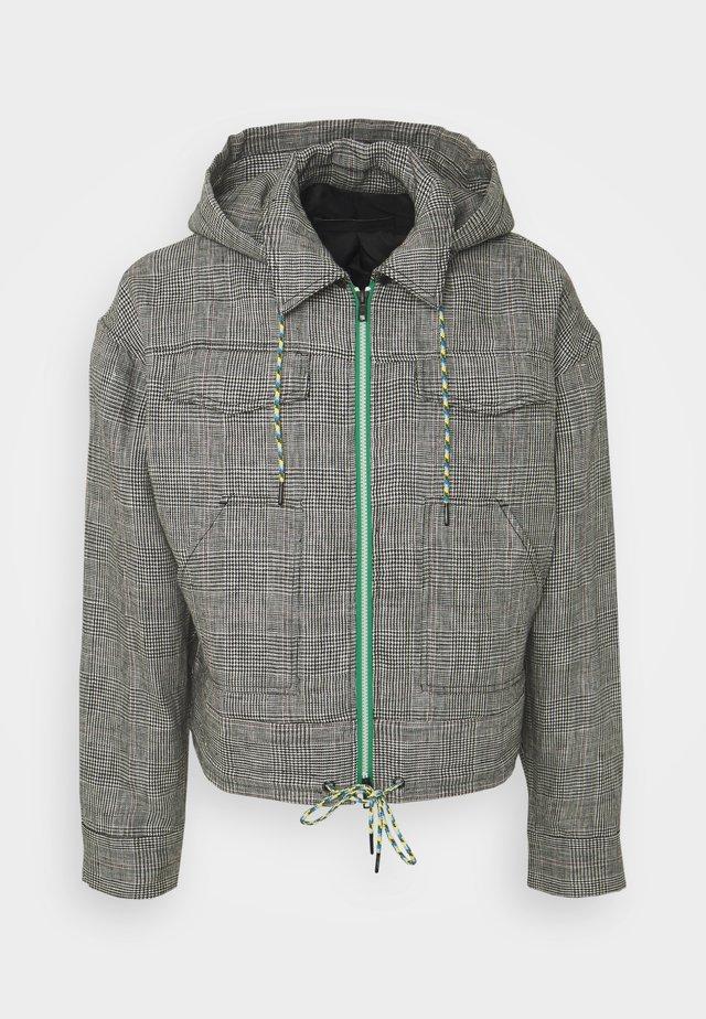 THE PRINCE OF WALES KANGAROO JACKET - Summer jacket - grey