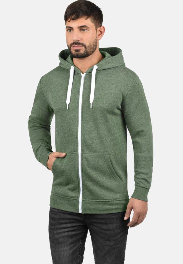OLLI - Zip-up hoodie - olive