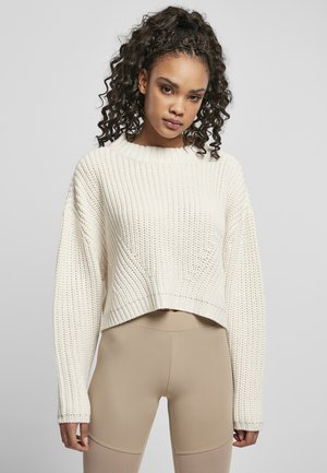 WIDE OVERSIZE  - Pullover - whitesand