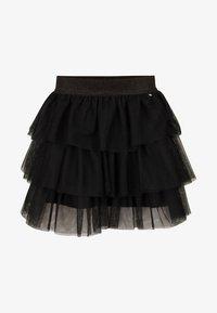 WE Fashion - A-line skirt - black - 3