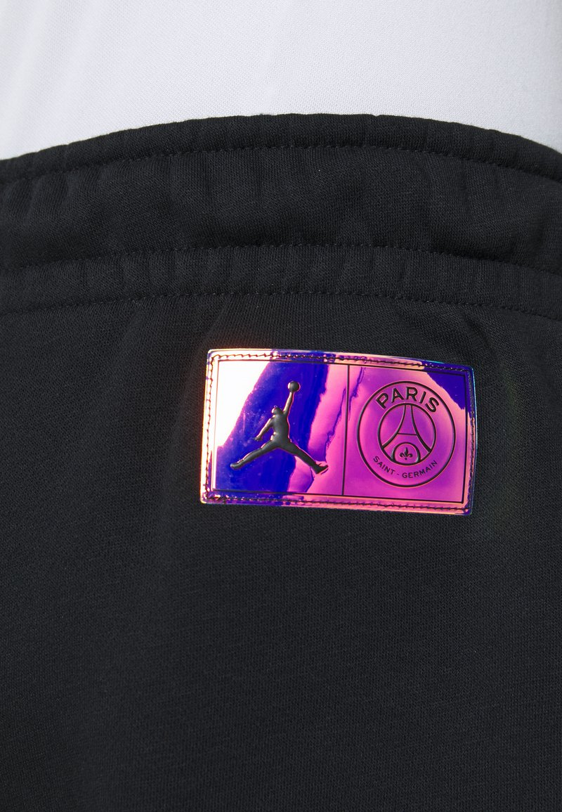 Nike Performance - PARIS ST GERMAIN PANT - Tracksuit bottoms - black/psychic purple
