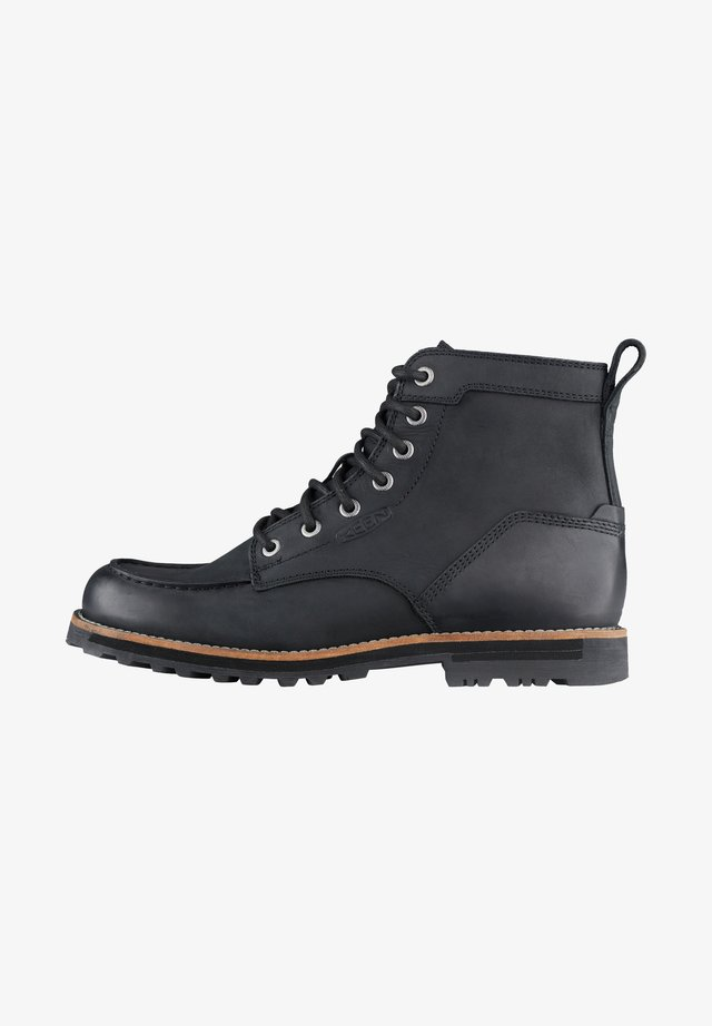 THE 59 MOC BOOT - WALKING BOOTS - Lace-up boots - black