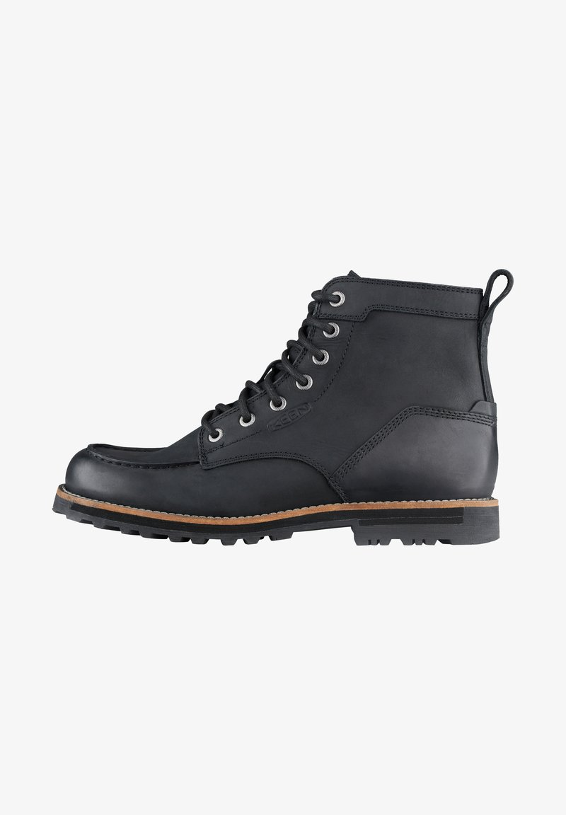 Keen - THE 59 MOC BOOT - WALKING BOOTS - Lace-up boots - black