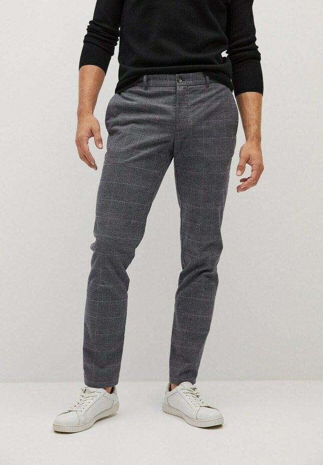 BREST - Trousers - grau