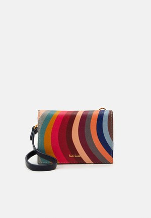 WOMEN PURSE ON STRAP - Portfel - multi-coloured