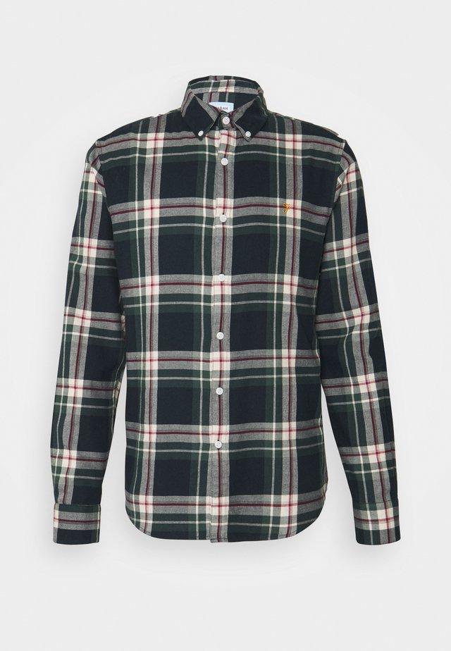 KRONE BRUSHED CHECK - Overhemd - true navy