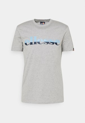 FILIP - Print T-shirt - grey