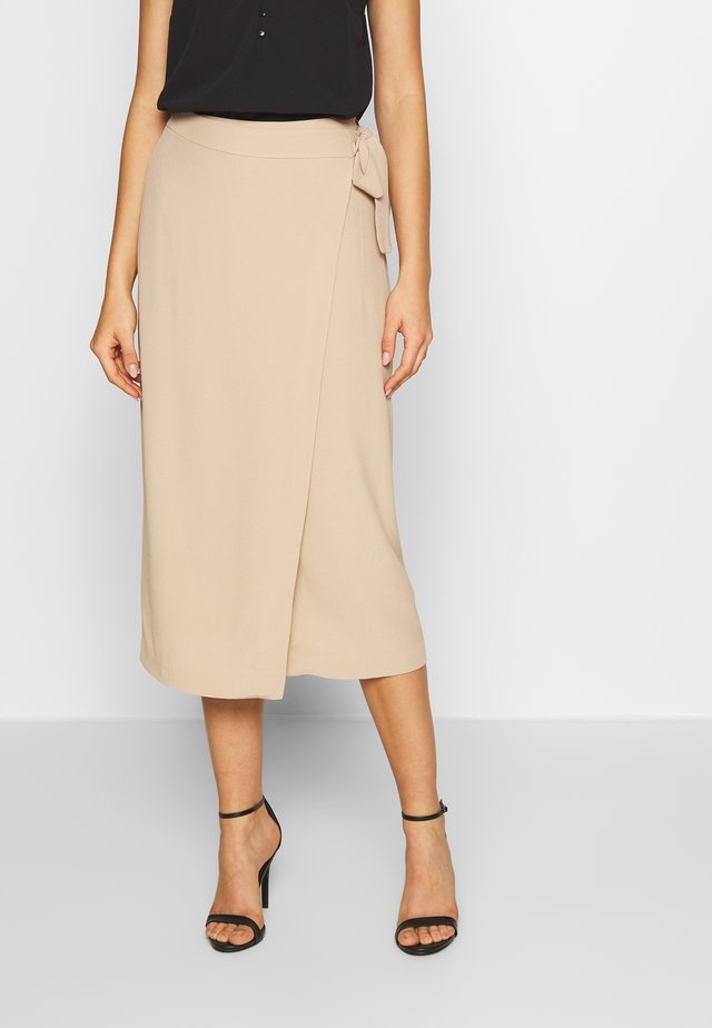 ORLA SKIRT - Gonna a tubino - beige