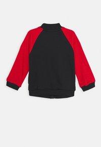 adidas Performance - Zip-up sweatshirt - black/scarlet/white - 1